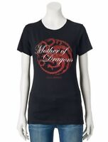 Game Of Thrones MOTHER OF DRAGONS Girls Women's T-Shirt NWT Licensed & Official