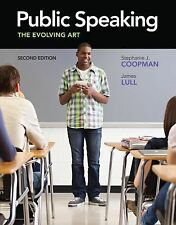 Public Speaking: The Evolving Art (with CourseMate with Interactive Video Activ