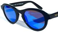 NEW* Maui Jim LEIA Black w POLARIZED Blue Lens Women's Sunglass 708-02