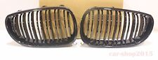 Front Grille Matte Black M Look For BMW 5-Series E60 E61 2004-2010 525d 520d