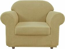 Chair Covers for Living Room Chair Slipcovers (Beige)