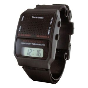 Reloj para Ciegos Reloj Parlante Vision Reducida Unisex Español envio 24-48 Hrs