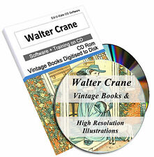Walter Crane Childrens Books DVD 820 Vintage Illustration Print Art Nouveau 219
