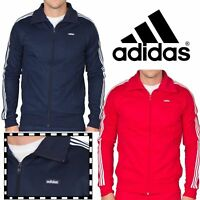 New Adidas Originals Beckenbauer Mens Sports Full Zip Track Jacket Top rrp £55