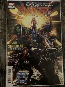 Avengers 30 By Aaron Thor Starbrand Strange Academy  1 Preview  NM 2020