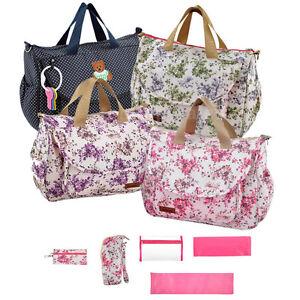 Baby Nappy Bag Diaper Bag Mummy Changing Bag Shoulder Handbag W/ Changing Pad