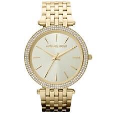 MICHAEL KORS DARCI WOMENS WATCH MK3191 CHAMPAGNE DIAL GOLD STRAP RRP £249.00
