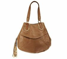 """Nicole Richie Collection Textured Leather Hobo NWT """"as is"""" QVC $257.00"""