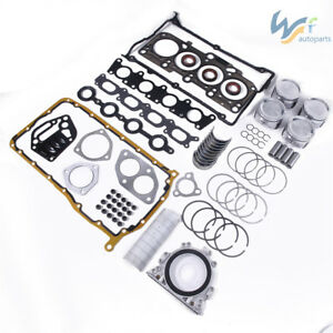 1.8T Engine Rebuilding Kits Overhaul Package For VW Golf Passat AUDI TT TTS