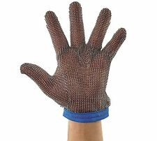 PMG-1L, PROTECTIVE MESH GLOVE, LARGE, REVERSIBLE, BLUE