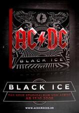 "AC/DC POSTER ""BLACK ICE ANKÜNDIGUNGSPOSTER"""