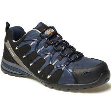 DICKIES TIBER NAVY SAFETY TRAINERS SHOES SIZE UK 6 EU 40 FC23530 COMPOSITE