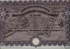 7607-TITOLO AZIONARIO ANIC 1940