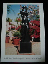 Modern Art Foundry Bronze Sculpture New Postcards Pkg.of 5