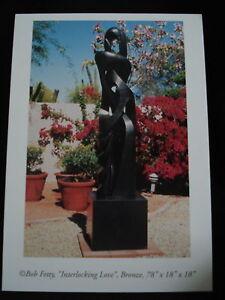 Modern Art Foundry Bronze Sculpture New Postcards Pkg.of 5