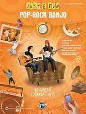 "JUST FOR FUN ""POP-ROCK BANJO""-EASY BANJO-TAB MUSIC BOOK BRAND NEW ON SALE!!"