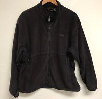 Men's Marmot Fleece Jacket Black Size Extra Large