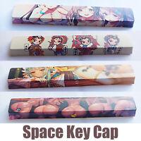 Five-Sided 6.25U Keycap PBT Space Bar Key Cap for Cherry MX Mechanical Keyboard