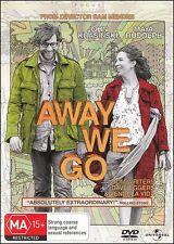 AWAY WE GO (John KRASINSKI Maya RUDOLPH Allison JANNEY) Romantic Comedy Film DVD