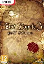 Port Royale 3 Gold Edition - PC DVD - Brand new and factory sealed