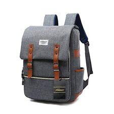 Vintage Laptop Backpack,15 inch Laptop Backpack Puersit Durable Business College
