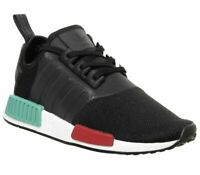 Adidas Nmd R1 Trainers Core Black Glory Green Lush Red Trainers Shoes