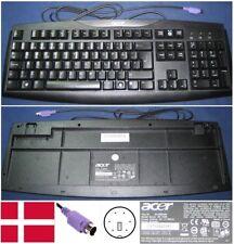 TECLADO QWERTY DANÉS/ tastatur ACER SK-1688 KB.6880B.073 GYUR845K Entrada PS/2