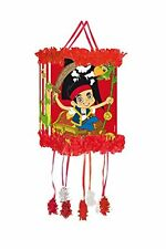 Jake and the Neverland Pirates Pull String Pinata & Mask - Toys & Sweets 395-890