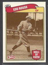 1989 Swell Baseball Greats - #35 - Edd Roush - Cincinnati Reds