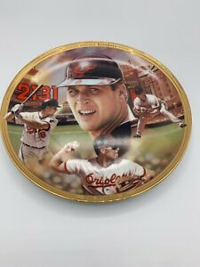 Bradford Exchange Cal Ripken Jr Collector's Plate Baseball Record Breaker 19941A