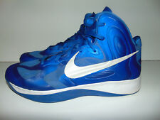 Nike 2012 Zoom Hyperfuse TB Mens Basketball Shoes Size 17 Blue White 525019-400