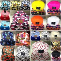 5 panel snapback caps retro vintage sale baseball flat peak hats mens/ladies