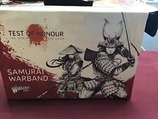 Warlord Games Test Of Honor Samurai Warband Plastic New