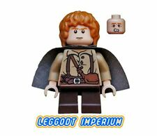 LEGO Minifigure - Samwise Gamgee Dark Cape - Hobbit Lord Rings lor004 FREE POST