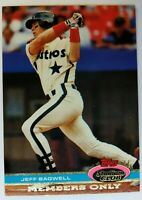 1991 91 Stadium Club Members Only Jeff Bagwell Rookie RC #NNO, Houston Astros