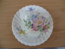 OLD ENGLISH ROYAL DOULTON 'ARCADIA' FLORAL PATTERN CHINA TRIO, TEA SET (G770)