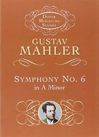 Symphony No 6 in A Minor (Dover Miniature Music Scores) by Mahler, Gustav Book