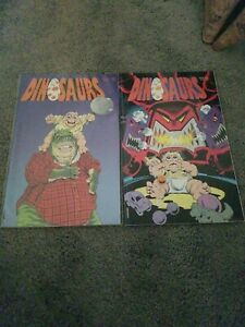 Dinosaurs Disney 91 Comic Books 1st and 2nd edition