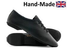 Black Leather Split Sole Dance Stage Jazz Modern Shoes By Katz All Sizes