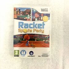 Racket Sports Party for Nintendo Wii - PAL UK - Brand New and Sealed - Mint