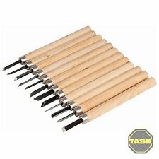 12PCE WOOD CARVING SET