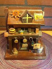 Vintage General Store Decorative Wood Birdhouse - Indoor/Outdoor