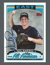 Neil Ramirez AUTOGRAPH /240 Chicago Cubs 2009 Bowman Draft Picks AUTO Baseball
