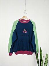 Vintage Iceberg Disney Sweatshirt Save The Amazon Made in Italy 1990