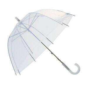 RainStoppers W103CHDOME 32-Inch Children's Plastic Umbrella, Clear Dome