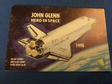 John Glenn Hero In Space 7 Stamp set From Marshall Islands