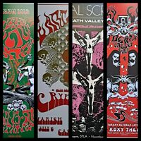 Psych poster set,psychedelic art, The Black Angels,Roky Erickson 13x19