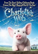 Charlotte's Web Julia Roberts, Dakota Fanning Brand New Sealed DVD
