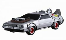 Aoshima 54772 1/43 Back to the Future Delorean from Part Iii Pull Back Model Kit