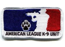 JSOC BATTLE TESTED SPECIAL WARFARE AMERICAN LEAGUE INFIDEL TEAM SSI: K-9 UNIT